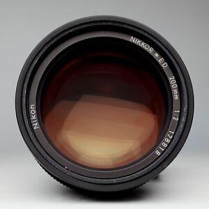 Nikon Ai-s 200mm F2 Manual Focus - Rare - Incredible Bokeh - Hard to Find -