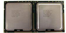 2 x Intel Xeon E5530 Quad Core 2.4GHz/8M/5.86 SLBF7 Socket LGA1366 CPU Processor