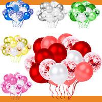 63 tlg. Konfetti Luftballon Party Set Geburtstag Party Hochzeit JGA Ballons Deko