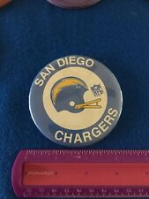 "San Diego Chargers 3"" Retro NFL button"