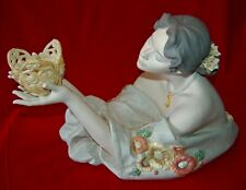 "Lladro ""Evening Light"" #6750 Magnificent Masterpiece Porcelain Sculpture! Rare!"