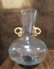 EXQUISITE Glass Trumpet Vase by Abigail