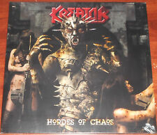 Kreator - Hordes Of Chaos LP / Black Vinyl Gatefold / New (2009) Metal