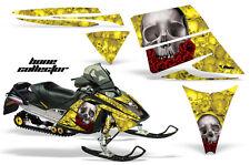 AMR Racing Sled Wrap Ski Doo Rev Snowmobile Graphic Kit 2003-2007 COLLECTOR YLO