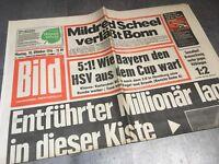 BILDzeitung  18.10.1976 Oktober Geschenk Geburtstag 43. 44. 45. 46. Flugzeug