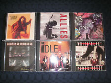 MASTEDON/IDLE CURE/WHITE HEART/KEN TAMPLIN/ALLIES/NOVELLA - 6 CD LOT *G-NM*