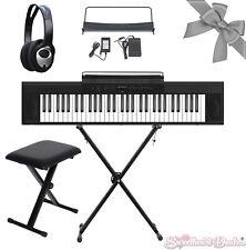 Artesia A-61 61 Key Electronic Digital Piano Keyboard Bundle w/ X-Stand X-Bench
