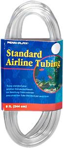 Fish Tank Airline Tubing Oxygen Air Line Pump Hose Aquarium Accessories 8 Feet