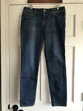 CAbi Ruby Skinny Jeans River Wash Style 750 Womens Size 10