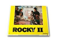 """ROCKY II"" ORIGINAL 11X14 AUTHENTIC LOBBY CARD POSTER PHOTO 1979 STALONE"