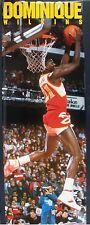 RARE DOMINIQUE WILKINS HAWKS 1988 VINTAGE ORIGINAL DOOR SIZE NBA COSTACOS POSTER