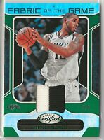 2018-19 LAMARCUS ALDRIDGE Panini Certified Fabric Game 2-Color Patch SP 2/5 Spur
