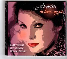 (HK220) Gail Marten, In Love ... Again - 2009 Sealed CD