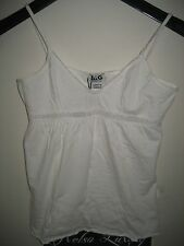 NEW Dolce&Gabbana D&G Junior Logo Girls Tank Top Underwear Under Shirt White XS