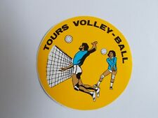 Sticker Tours Volleyball