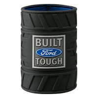 Ford Stubby Cooler - Tough Logo Rubber Tyre Can Cooler - Drink Cooler - BNWT