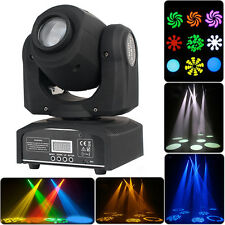 30W DMX-512 LED Spot Moving Head Light Stage Lighting Party Bar Laser Disco RGBW