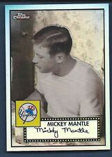 2007 Topps Chrome Mickey Mantle Story Refractor MMS2 46/500 FREE SHIP
