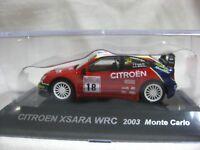 CITROEN XSARA WRC 2003 Monte Carlo 1:64 Scale CM's Rally Car Collection