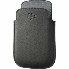 BlackBerry Pocket Microfibre Case for Curve 9220 9310 9320 Black Grey