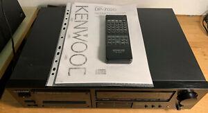 Kenwood DP-7020 + Fernbedienung + Anleitung