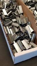 """Bander Clips Metal Seals 1/2"""" x 1 1/4"""" For Steel Strapping FAST SHIP 100 pieces!"""