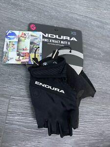 Endura Wms Xtract Mitt II Summer Gloves Woman, Black Size XSmall