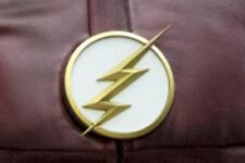 """A Lightning Bolt Emblem Inspired by the Television Series """"The Flash"""""""