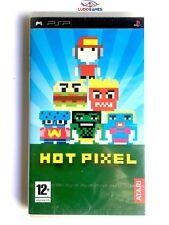 Hot Pixel PSP Playstation Nuevo Precintado Retro Sealed New Videojuego PAL/SPA