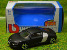 AUDI R8 MATT BLACK 1:43 Car NEW Model Diecast Models Die Cast Metal Miniature