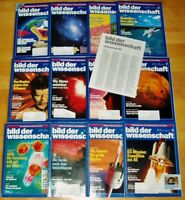 12x Bild der Wissenschaft 1993 1-12 Jahrgang Sammlung Zeitschrift Science Hefte