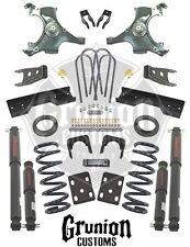 Chevy Silverado C1500 1988 - 1998 4/6 - 5/7 Lowering Kit w/Shocks Belltech