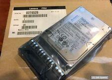 300GB IBM Lenovo 03T6528 HDD SAS 15K 2.5 Festplatte Savvio 15K.3, 03X3797, NEU