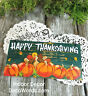 Happy Thanksgiving * Wood Sign *  USA * DecoWords * Indoor Decor