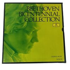 Beethoven Bicentennial Collection Choral Music Vol 6 VI 5 Record 33 Deutsche