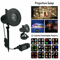 LED outdoor Projection light projector Xmas Party Garden 12V Fairy lamp 100-240V