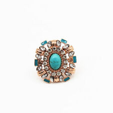 New Samantha Wills Faux Turquoise Cocktail Ring Gift Fashion Women Party Jewelry
