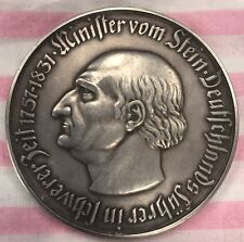 1923 GERMAN NOTGELGD THE PROVINCE WESTFALEN 1 BILLION MARK COIN 60MM