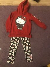 Girls Hello Kitty Hoody And Leggings 2/3 Years