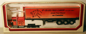DTE 1:43 FRANCE LOUIS SURBER 4070 KENWORTH 4e GRAND PRIX CAMION TRACTOR TRAILER