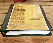 New Galion 503L Motor Grader Parts Book 503 Manual (serial number 6112 and up)