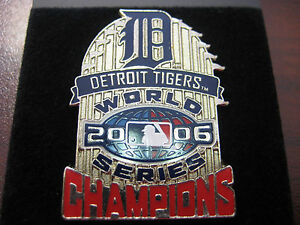 ERROR PIN 2006 World Series Champs Detroit Tigers
