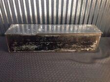 LARGE SAFE DEPOSIT BOX METAL DRAWER SAFETY BANK TRAY CASE VINTAGE