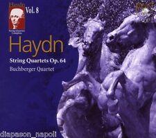 Haydn: String Quartets (Quartetti)  Vol 8 op.64 / Buchburger Quartet - CD