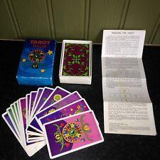 Da collezione raro vintage 1978 Balbi Tarocchi Mazzo di carte da gioco-COMPLETO