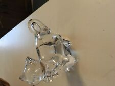 """Lenox Lead Crystal Fancy Cat """"Sassy"""" Figurine Sculpture Collection Germany 3�"""