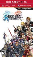 Dissidia Final Fantasy Sony For PSP UMD Fighting Very Good