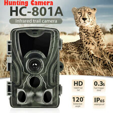 HC-801A 16MP 1080P 25m Night Vision Detect Distance Hunting Game Trail Camera