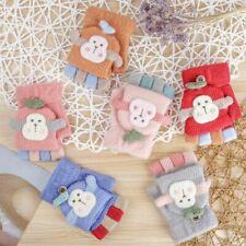 Kids Fingerless Glove Clamshell Half Finger Gloves Knitted Gloves Baby Mittens