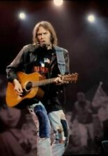 "Neil Young Guitar Lights Poster 16""x24"""